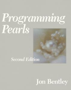 BooksWeRead-Bentley-ProgrammingPearls