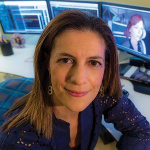 Cristina Lopes - ICS faculty head shots photo: Steve Zylius/UC Irvine communications